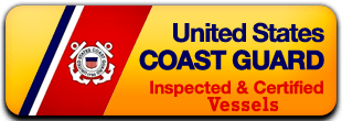 US Coast Guard Inspected and Certified Vessels